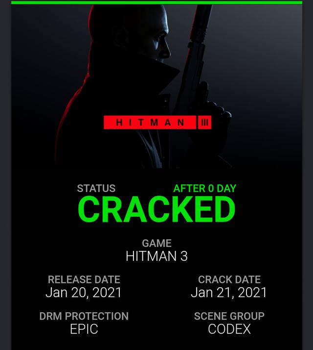 Vừa ra mắt, Hitman 3 đã bị crack hoàn toàn, trở thành game 0 đồng - Ảnh 1.