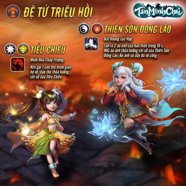 Tân Minh Chủ - Game siêu phẩm - Quà cực phẩm: FREE bộ 3 Thiên Long, lần đầu chiêu mộ x10 tẹt ga, miễn phí thể lực trọn đời - Ảnh 2.