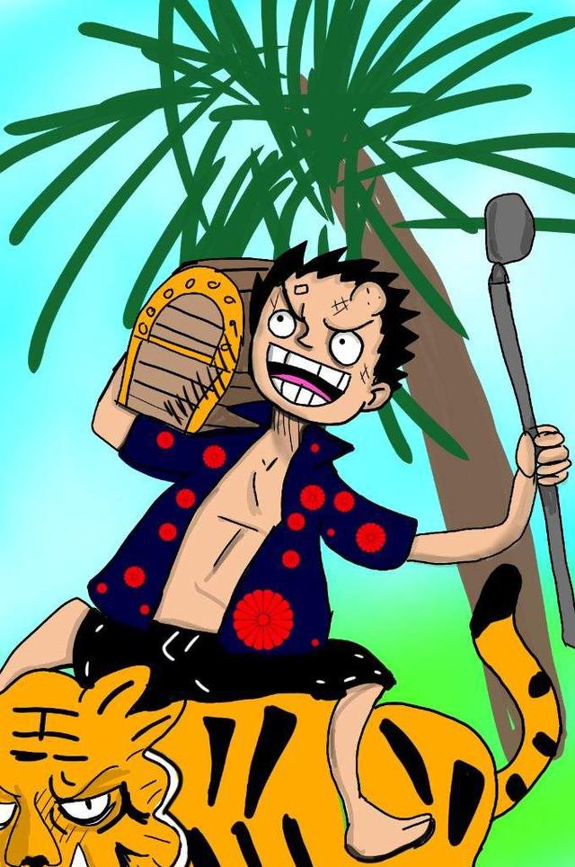 One Piece: Ngắm loạt ảnh hồi trẻ của Anh Hùng Hải Quân Grap lại thấy có nét trẩu giống Luffy - Ảnh 4.