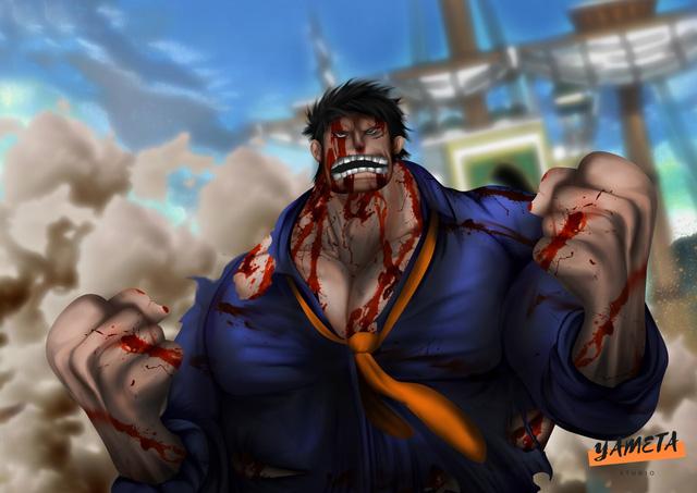 One Piece: Ngắm loạt ảnh hồi trẻ của Anh Hùng Hải Quân Grap lại thấy có nét trẩu giống Luffy - Ảnh 5.