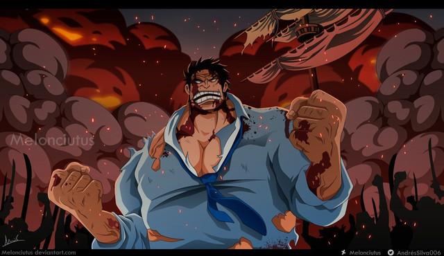 One Piece: Ngắm loạt ảnh hồi trẻ của Anh Hùng Hải Quân Grap lại thấy có nét trẩu giống Luffy - Ảnh 6.
