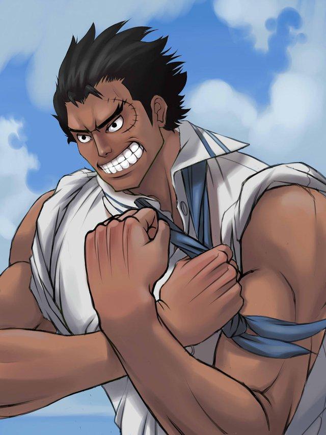 One Piece: Ngắm loạt ảnh hồi trẻ của Anh Hùng Hải Quân Grap lại thấy có nét trẩu giống Luffy - Ảnh 7.