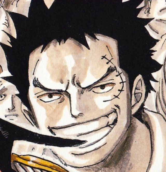 One Piece: Ngắm loạt ảnh hồi trẻ của Anh Hùng Hải Quân Grap lại thấy có nét trẩu giống Luffy - Ảnh 10.