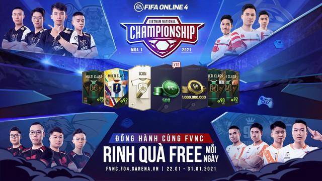 FIFA Online 4 ra mắt chuỗi sự kiện 4 trong 1 cực khủng đồng hành cùng FVNC 2021 - Ảnh 1.