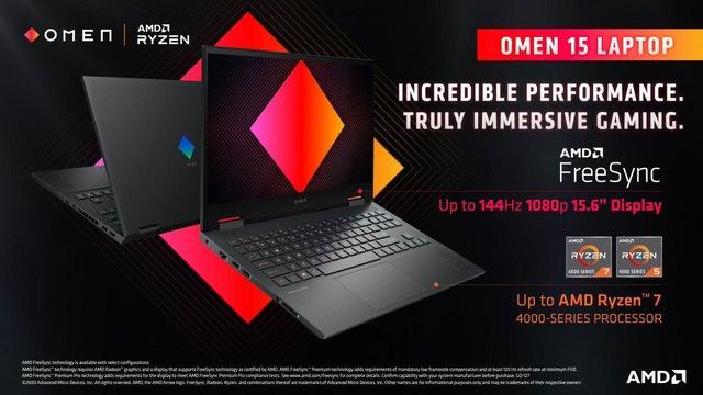 OMEN 15 Ryzen 4800H- Delicious, nutritious, cheap laptop for red team fans - Photo 2.