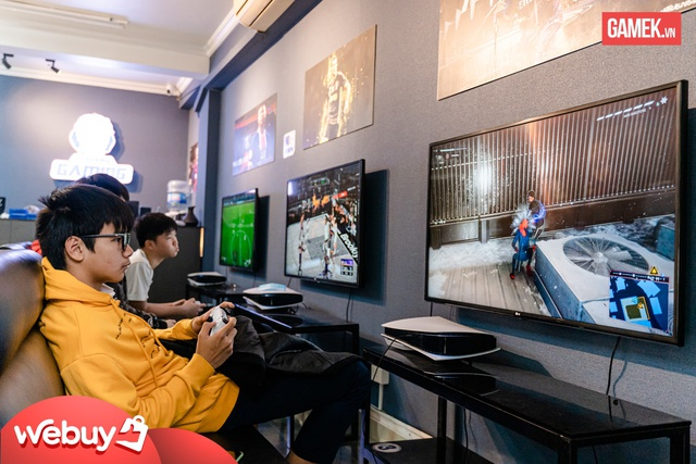 Cận cảnh quán PS5 siêu xịn xò đầu tiên tại Hà Nội - Ảnh 4.