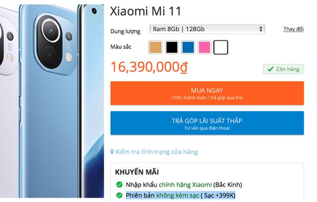 Mua Xiaomi Mi 11 tại VN, người dùng buộc phải bảo vệ môi trường - Ảnh 4.