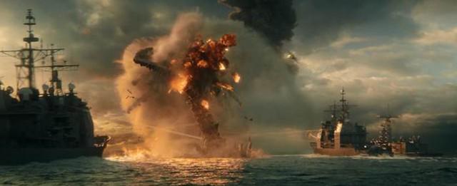 Hai siêu quái vật Godzilla và Kong đại chiến trong trailer mới nhất: Cháy nổ mãn nhãn, trời long đất lở, đại dương dậy sóng - Ảnh 6.