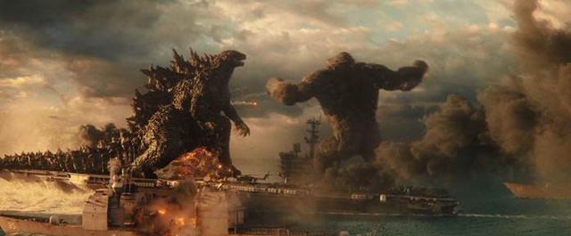 Hai siêu quái vật Godzilla và Kong đại chiến trong trailer mới nhất: Cháy nổ mãn nhãn, trời long đất lở, đại dương dậy sóng - Ảnh 7.