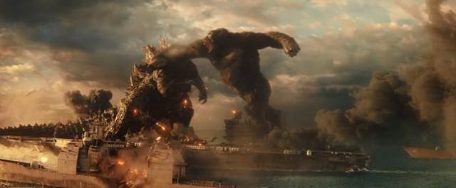 Hai siêu quái vật Godzilla và Kong đại chiến trong trailer mới nhất: Cháy nổ mãn nhãn, trời long đất lở, đại dương dậy sóng - Ảnh 8.