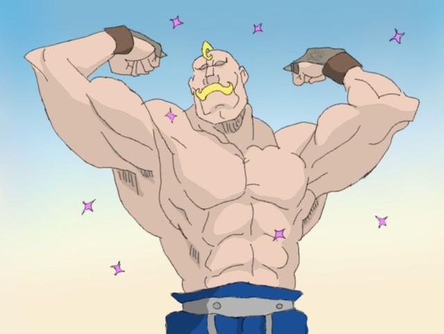 Điểm mặt những nhân vật cơ bắp ấn tượng nhất trong thế giới anime - Ảnh 5.