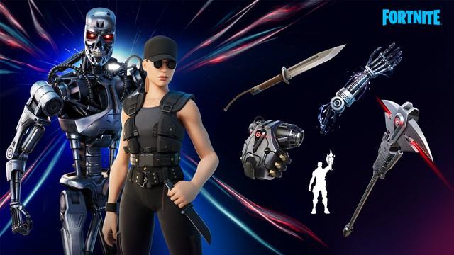 """""""Kẻ hủy diệt"""" Terminator góp mặt trong game Fortnite - Ảnh 1."""