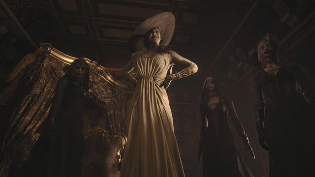 Cộng đồng game thủ phát sốt vì Lady Dimitrescu, ác nhân gì mà lại nóng bỏng đến thế? - Ảnh 6.