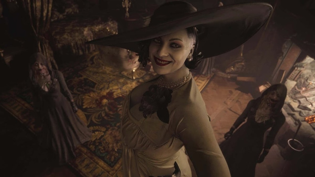 The gaming community is feverish because Lady Dimitrescu, what evil person is so hot?  Photo 8.
