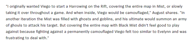 LMHT: Riot hé lộ Viego từng có thể Ngụy Trang vĩnh viễn, triệu hồi zombie với E - Lãnh Thổ Sương Đen - Ảnh 4.