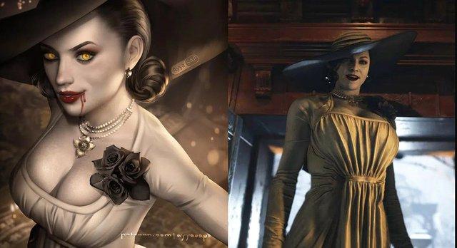 Giả thuyết rợn người về Vampire Lady, nữ ma cà rồng siêu hot trong Resident Evil 8 - Ảnh 1.