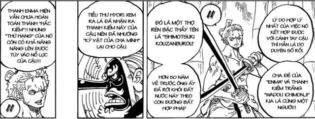 """One Piece: Thanh kiếm Enma sẽ tự mình """"dạy"""" Zoro sử dụng Haki cấp cao giống như Oden sau khi biến thành Hắc Kiếm? - Ảnh 3."""
