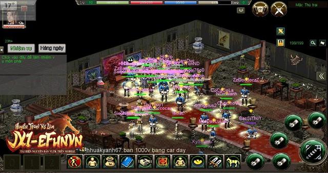 Jx1 EfunVN Huyền Thoại Võ Lâm chính thức khai mở server Lập Dương, một trong Tam trụ của Công Thành Chiến - Ảnh 5.