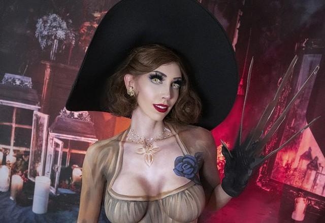 Resident Evil mới chưa ra mắt, đông đảo chị em game thủ đã tranh thủ cosplay nhân vật phản diện - Ảnh 10.