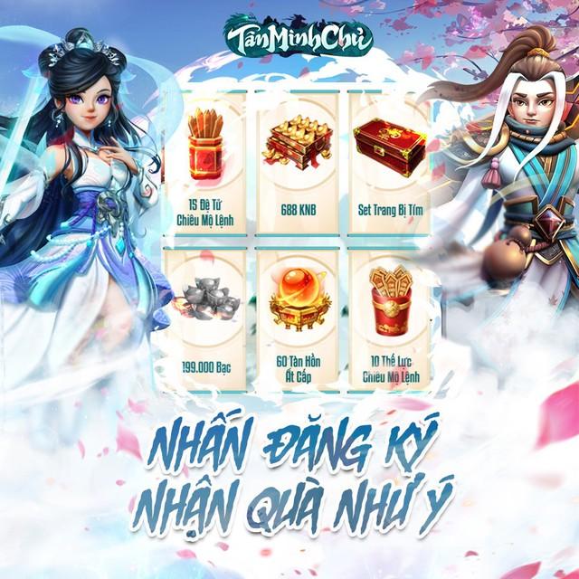 Siêu phẩm Kim Dung 2021 - Tân Minh Chủ chính thức mở đăng ký trước, tặng quà khủng chỉ xuất hiện MỘT LẦN DUY NHẤT - Ảnh 4.