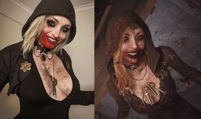 Coser gốc Việt khiến game thủ cứng người khi hóa thân thành nữ trùm Resident Evil - Ảnh 2.