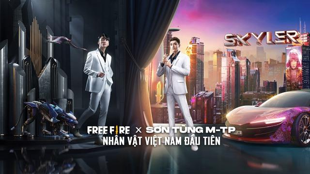 Rực sáng bầu trời TP.HCM, dự án Skyler Free Fire x Sơn Tùng M-TP chính thức khởi động - Ảnh 3.