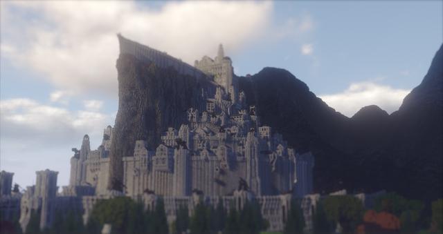 Bỏ 10 năm xây cả thế giới Chúa Nhẫn trong Minecraft, dùng Ray Tracing càng thêm đẹp mê hồn - Ảnh 2.