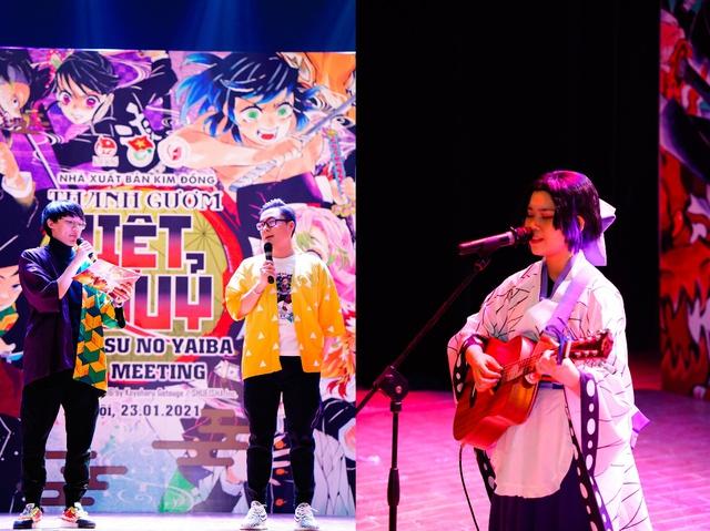 Offline Kimetsu no Yaiba tại Hà Nội: Rực rỡ, hoành tráng và sôi động! - Ảnh 4.