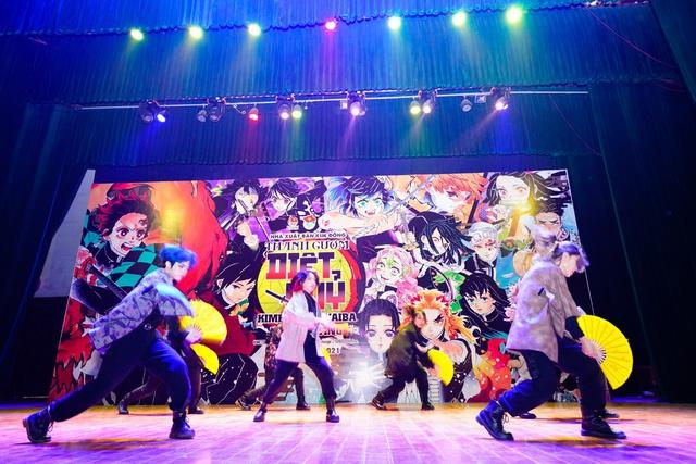 Offline Kimetsu no Yaiba tại Hà Nội: Rực rỡ, hoành tráng và sôi động! - Ảnh 6.