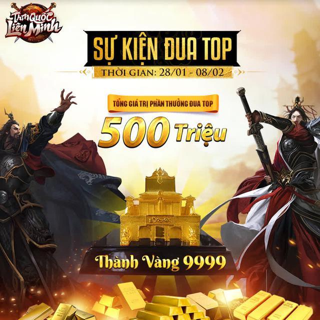 Giải đấu Hoàng Đế ASEAN vừa khởi động, Tam Quốc Liên Minh tặng thêm giải ĐUA TOP Vàng 9999 mừng TOP 1 CH Play! - Ảnh 10.