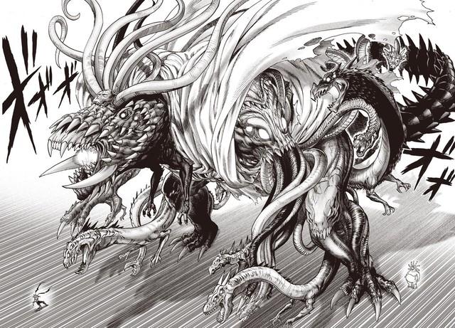 One Punch Man: Những phát hiện thú vị trong chap mới, Vua quái vật có liên quan gì tới tộc người lòng đất? - Ảnh 4.