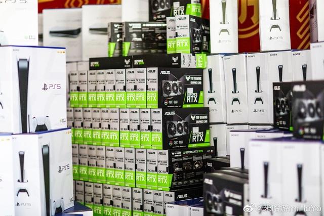 Cha đẻ Genshin Impact tặng quà Tết nhân viên mỗi người một cái PS5, iPhone 12, VGA RTX, Nintendo Switch... hàng xếp cao như núi - Ảnh 8.