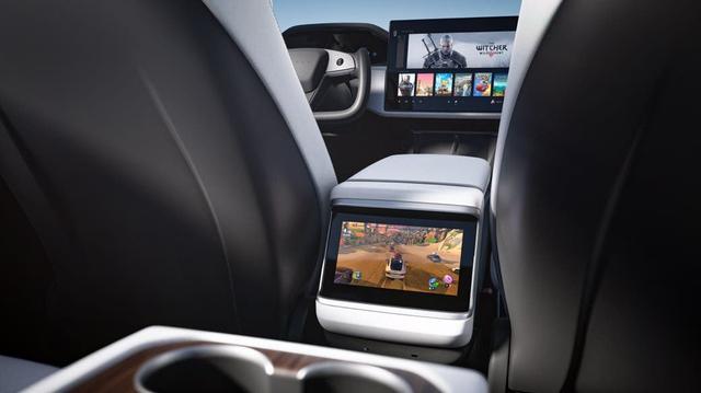 Chiều chuộng game thủ, Elon Musk tung ra mẫu xe siêu bá đạo, chơi được cả game bom tấn AAA - Ảnh 3.