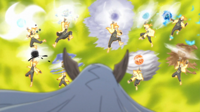 10 biến thể Rasengan mạnh nhất trong Naruto và Boruto, màn kết hợp của cha con ngài đệ thất chỉ đứng số 5 - Ảnh 9.