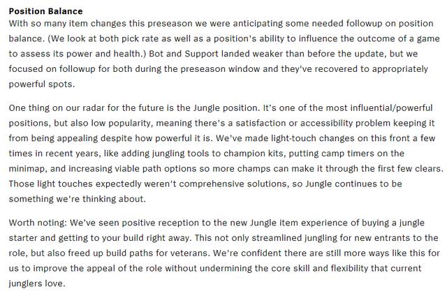 LMHT: Riot Games chia sẻ về hiện trạng của vị trí Đi rừng - Sức mạnh lớn nhưng độ phổ biến quá thấp - Ảnh 1.