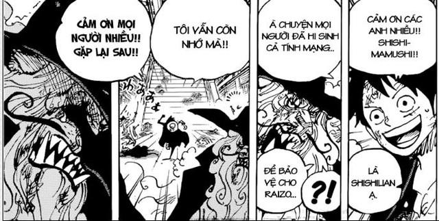 Săm soi One Piece chap 1000: Luffy dùng Haki quan sát né đòn của Kaido - Ảnh 1.
