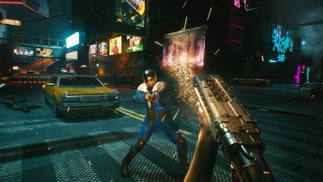 Xuất hiện bản mod chơi Cyberpunk 2077 với góc nhìn thứ 3 Photo-1-1609834721268864361578