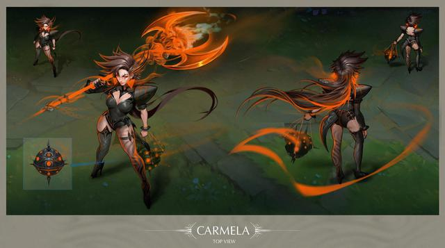 Carmela – The Twisted Mist