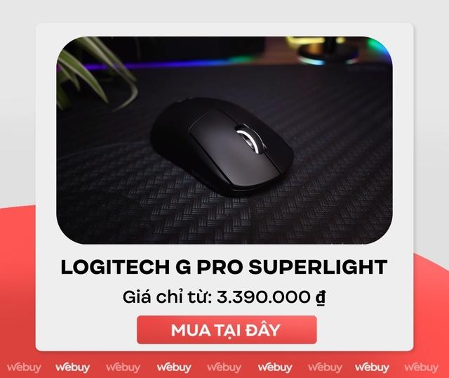 Trên tay Logitech G Pro X Superlight: Chuột chơi game không dây nhẹ nhất thế giới - Ảnh 8.