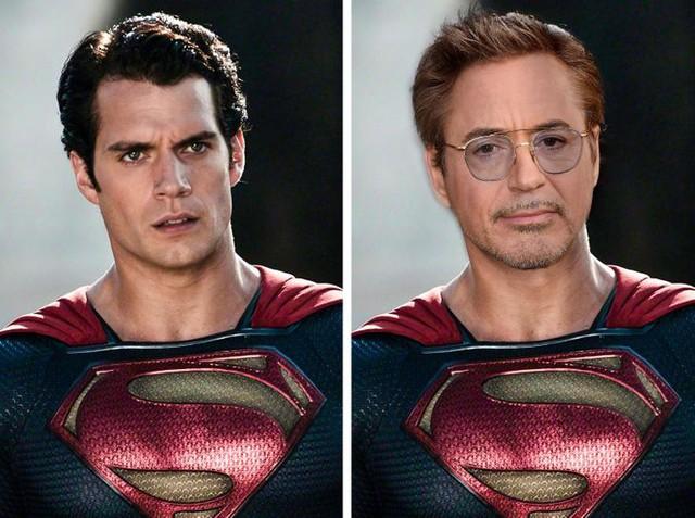 Bất ngờ trước hình ảnh lạ lẫm khi hàng loạt các siêu anh hùng Marvel và DC đổi vai cho nhau - Ảnh 2.