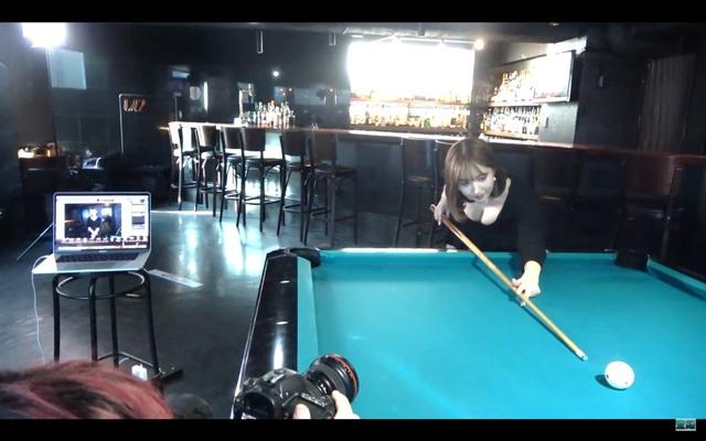 Không thể đóng phim, Yua Mikami ở nhà tập tành chơi bi-a, bị fan chê cười vì kỹ năng chọc lỗ yếu kém - Ảnh 5.