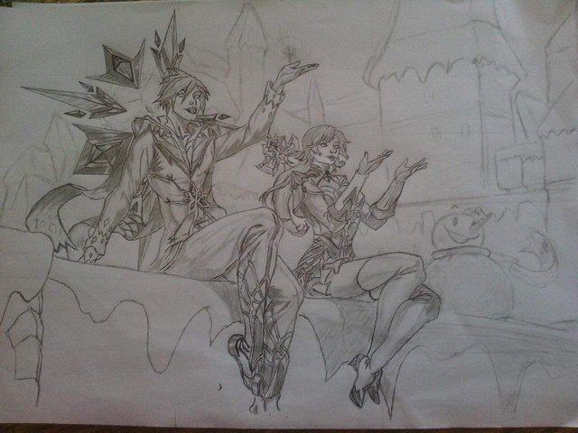 Khi game thủ Liên Quân trổ tài họa sĩ, mỗi tội vẽ xong không ai nhận ra đây là tướng nào - Ảnh 4.