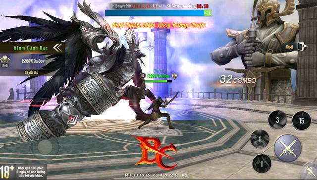 Siêu phẩm Blood Chaos M tung Trailer, 500 anh em đồng loạt chia tay bản Hàn vì biết sắp được quẩy server Việt - Ảnh 3.
