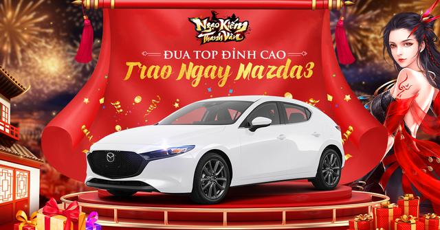 Bom tấn xứ Hàn chơi lớn tặng Mazda 3 2021 hơn 1 tỷ cho game thủ, anh em cứ chuẩn bị tinh thần đua TOP lấy xe về chơi Tết - Ảnh 3.