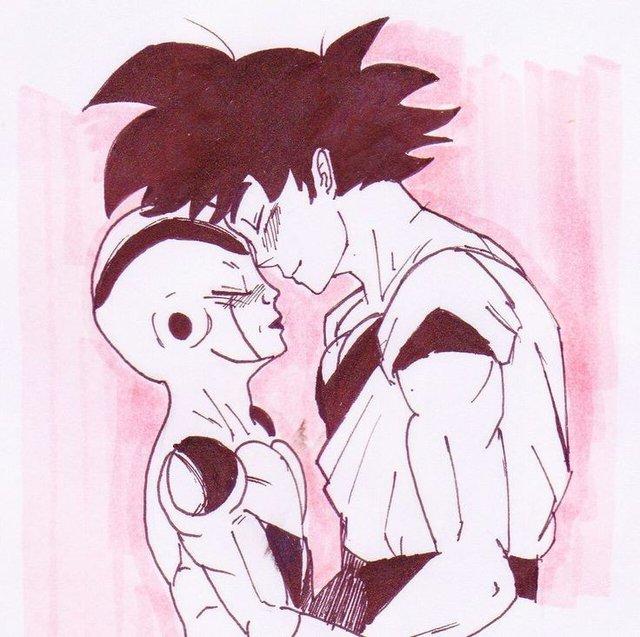 Dragon Ball: Nhìn Goku và Frieza tình bể bình mà fan than thở chỉ có đàn ông mới mang lại hạnh phúc cho nhau - Ảnh 3.