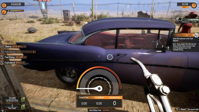 Xuất hiện game hot trên Steam, cho phép bạn vào vai nhân viên bán xăng - Ảnh 1.