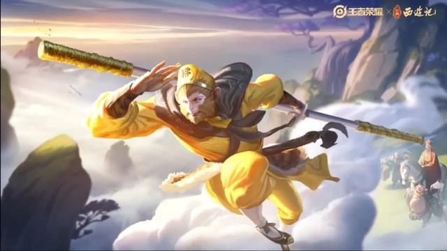 Skin trong mơ của game thủ Liên Quân, Ngộ Không bản xịn Lục Tiểu Linh Đồng ra mắt khiến CĐM ghen tị - Ảnh 1.