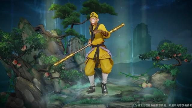 Skin trong mơ của game thủ Liên Quân, Ngộ Không bản xịn Lục Tiểu Linh Đồng ra mắt khiến CĐM ghen tị - Ảnh 2.