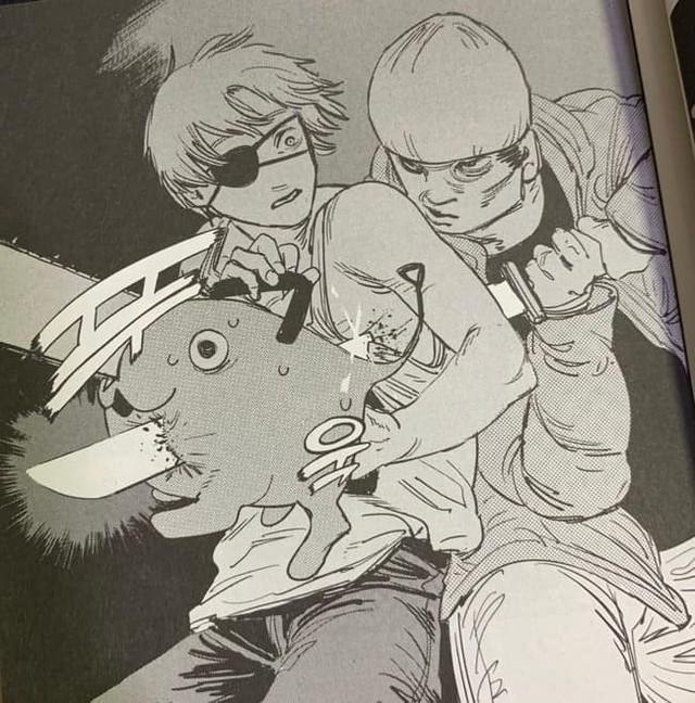 """Chainsaw Man và loạt manga 18+ bị """"che chắn"""" cực kỳ hài hước khi xuất bản tại Hàn Quốc - Ảnh 1."""