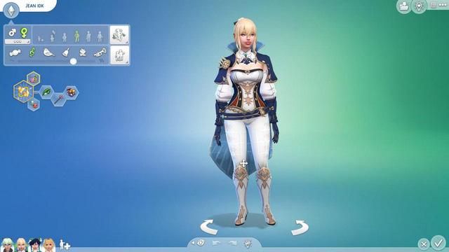 Dàn nữ nhân vật Genshin Impact bất ngờ xuất hiện trong The Sims 4 - Ảnh 11.
